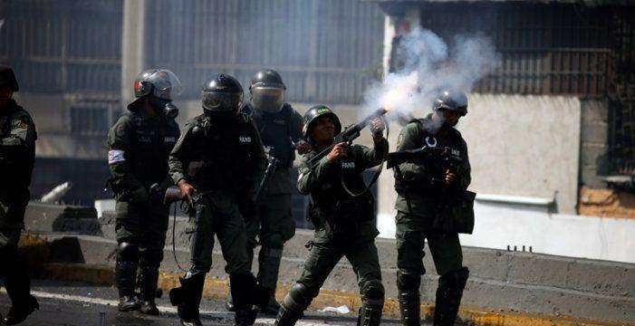 30 detenidos en Venezuela tras los enfrentamientos en las protestas de Caracas