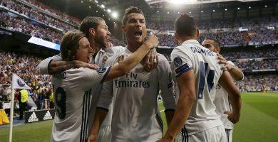 Cristiano Ronaldo celebrando uno de sus goles. REUTERS