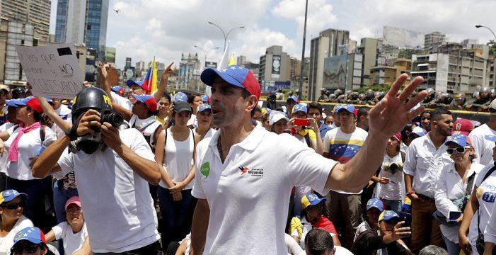 Capriles expresa su alegría por la excarcelación de Leopoldo López
