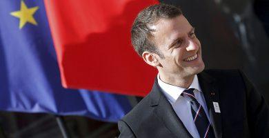 Emmanuel Macron, presidente de Francia. REUTERS/Gonzalo Fuentes