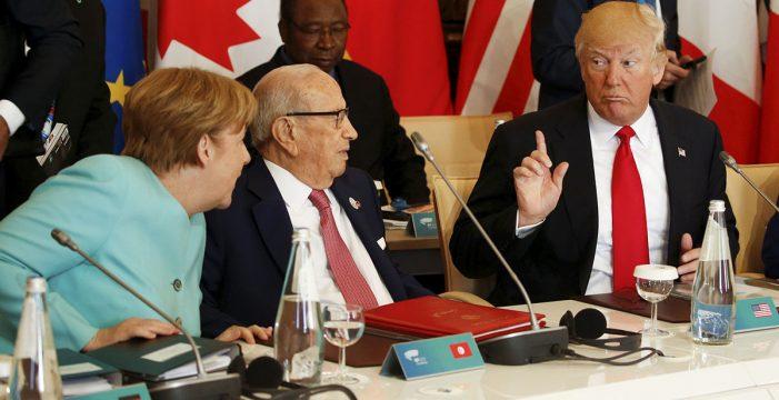 Trump se niega a ratificar el acuerdo de París contra el cambio climático