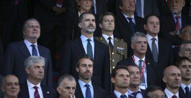 El Vicente Calderón vuelve a ser escenario de una polémica pitada al himno español