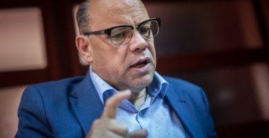 José Miguel Barragán, consejero regional de Presidencia y Justicia y secretario general de CC. ANDRÉS GUTIÉRREZ