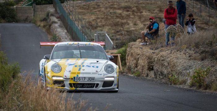 50 vehículos en un cartel de lujo para el Rally Villa de Adeje Tenerife