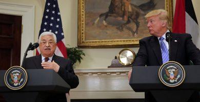 Abbas y Trump EEUU