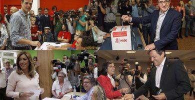 Los candidatos votan entre llamadas a la unidad y lealtad a los resultados