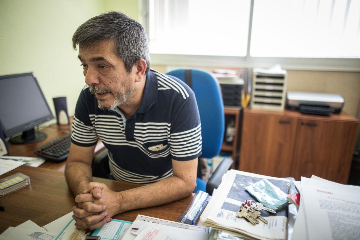 Carmelo Jorge (Comisiones Obreras). / ANDRÉS GUTIÉRREZ
