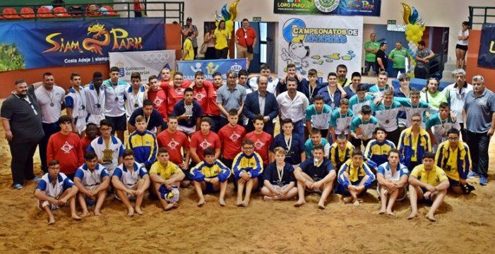 Tenerife no tiene oposición y logra el Campeonato de Canarias infantil Trofeo Faro de Maspalomas