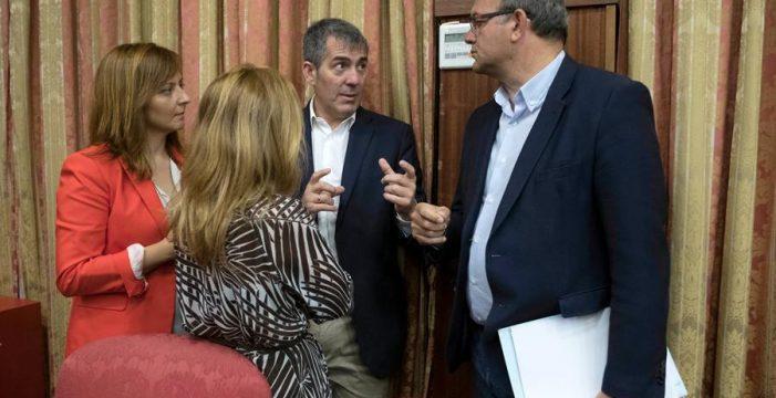 Alcaldes y empresarios han pedido al Gobierno canario que tutele el Fdcan de La Palma