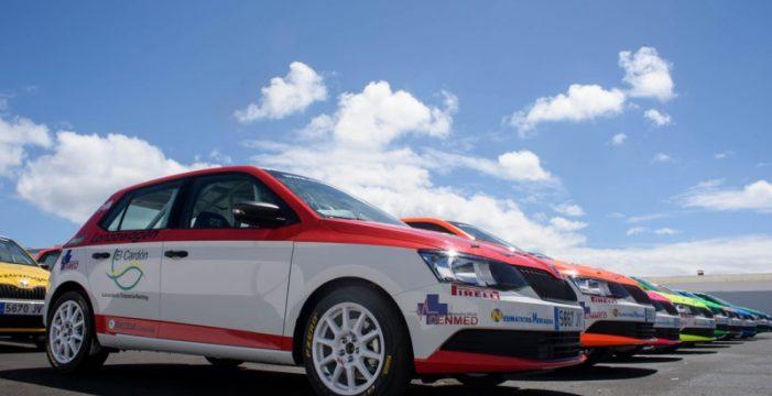 La I Copa Skoda Fabia arranca en el II Rally Villa de Teguise