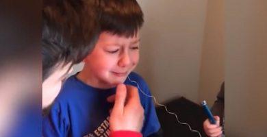 Un diente de leche anudado y un drama familiar con final feliz