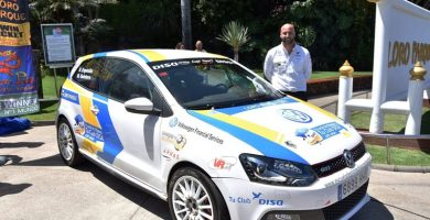 Domingo Expósito (VW Polo GTI) Escuela de Pilotos DISA Copi Sport