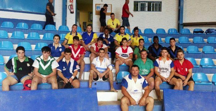 Las selecciones infantil y cadete de lucha de Tenerife se ponen a punto