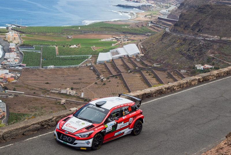 Ivan Ares Rally Islas Canarias 4