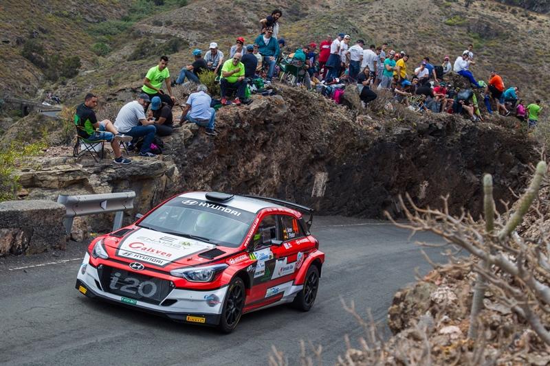 Ivan Ares Rally Islas Canarias