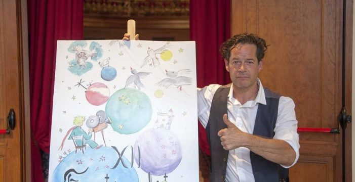 Jorge Sanz recibe La Estrella Polar del Festivalito
