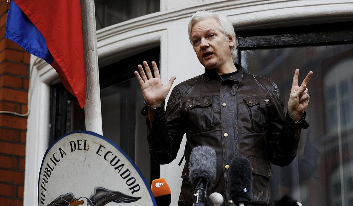 Julian Assange, fundador de WikiLeaks. REUTERS/Peter Nichollspe