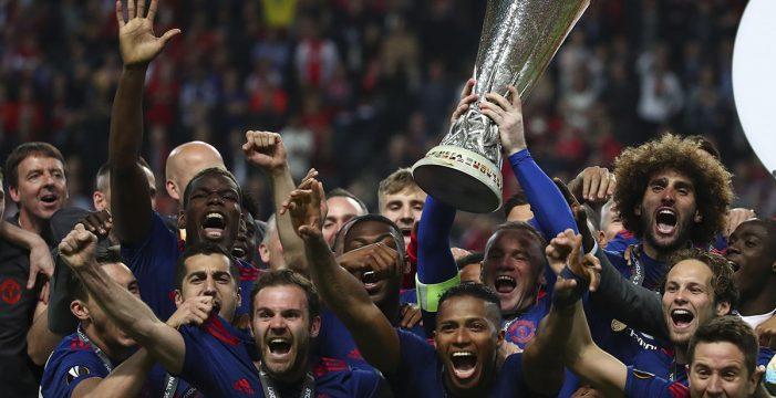 El United conquista la Europa League y saca su billete para la 'Champions' (0-2)