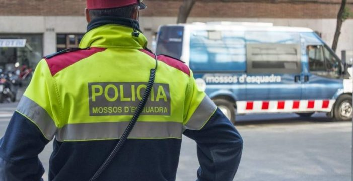 Independientes de la Guardia Civil rechazan ayuda de los Mossos en la manifestación de CUP