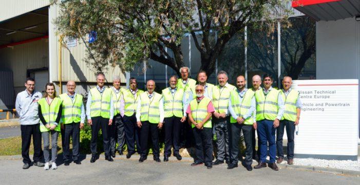 La Red Nissan Canarias visita el Centro Técnico de Nissan Europa en Barcelona
