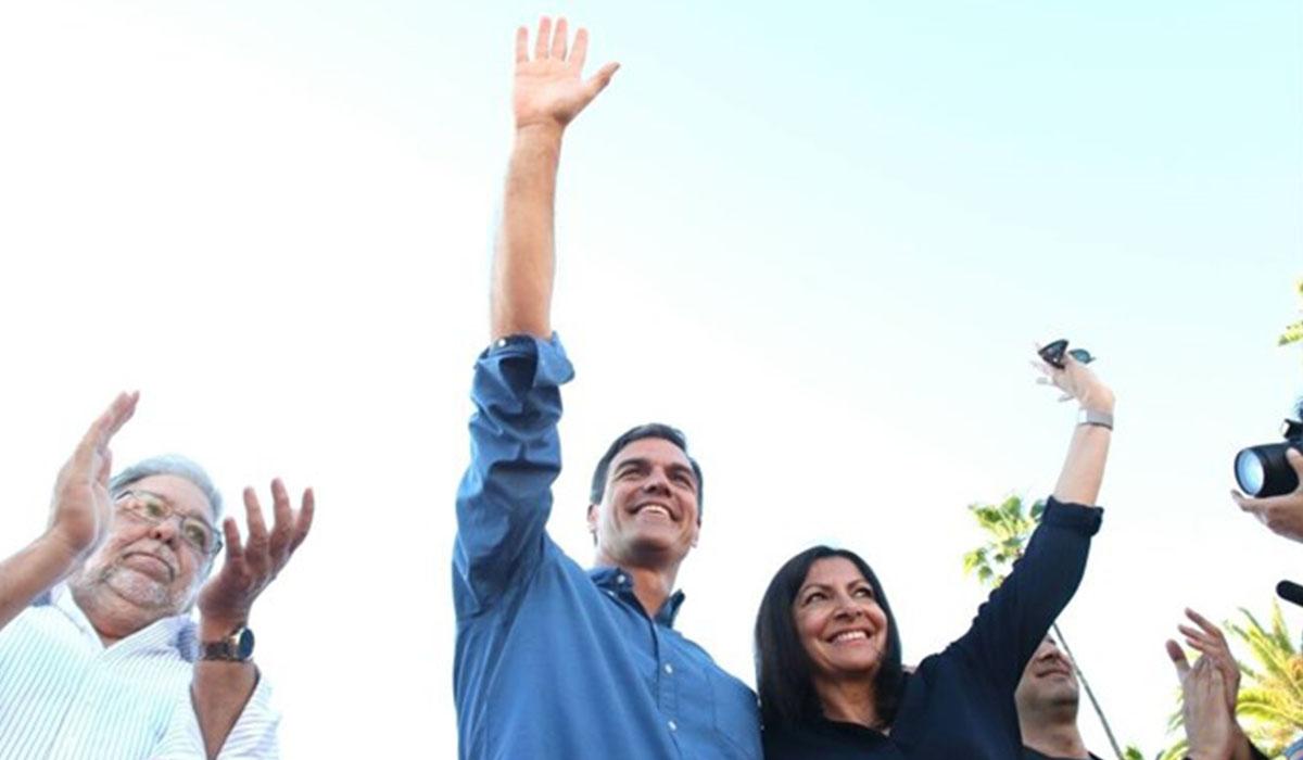 Pedro Sánchez, ex secretario general del PSOE y candidato a la reelección. EUROPA PRESS