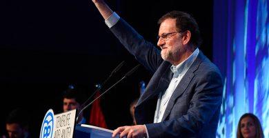 Mariano Rajoy durante el congreso insular del PP de Tenerife | FOTO: Sergio Méndez