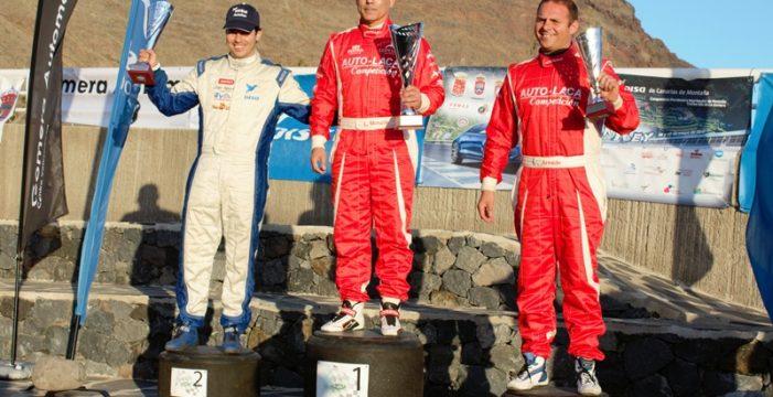 Luis Monzón vuela con su Audi R8 LM en la I Subida a Valle Gran Rey