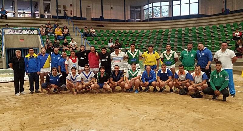 Entrenamiento en Tegueste de la preseleccion juvenil de Tenerife 2017
