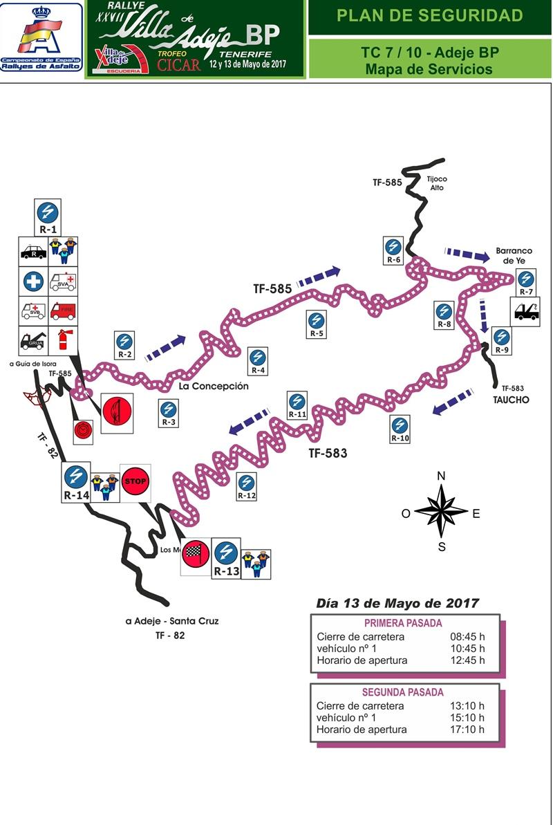 TC 7-10 Adeje Rally Villa de Adeje BP Tenerife Trofeo Cicar