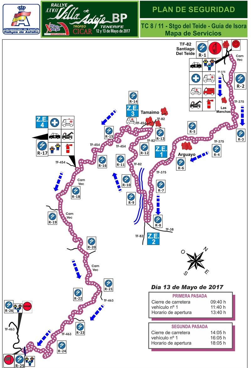 TC 8-11 Santiago de Teide-Guía de Isora Rally Villa de Adeje BP Tenerife Trofeo Cicar