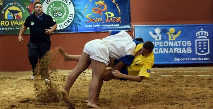 Los mejores luchadores infantiles de las Islas se miden en Tenerife