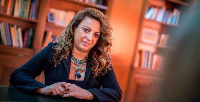La consejera de Políticas Sociales del Gobierno canario, Cristina Valido. Andrés Gutiérrez