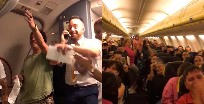 El 'Despacito' en un vuelo a Gran Canaria alcanza 3 millones de visitas