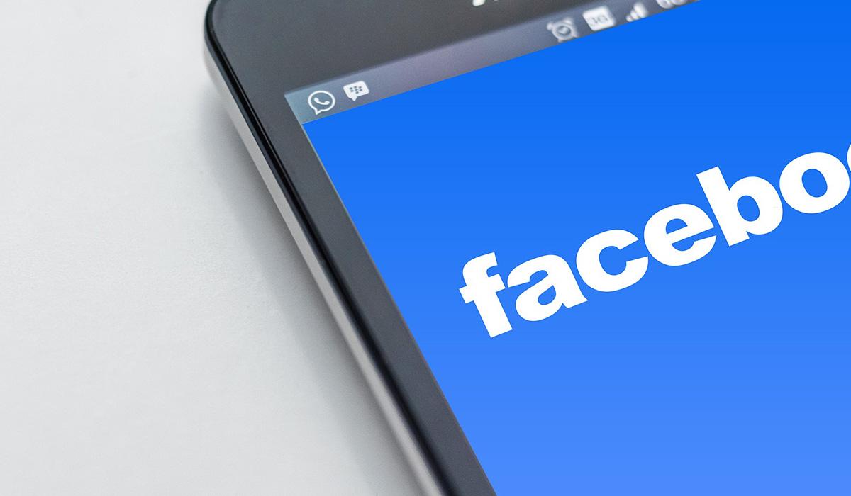 Red social de Facebook. DA