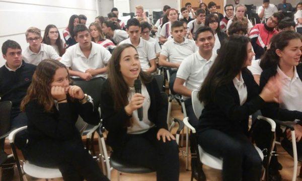 El Festivalito lleva el cine aborigen a más de 200 alumnos palmeros