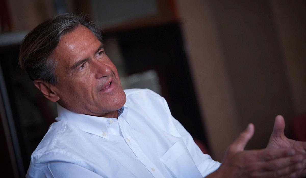 Juan Fernando López Aguilar, eurodiputado socialista canaria. Fran Pallero