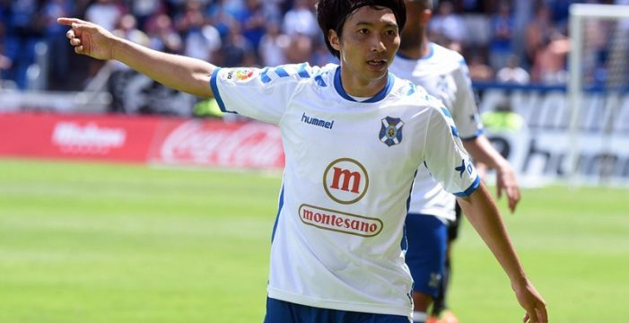 Gaku Shibasaki se quedará en el Tenerife si el club asciende a Primera