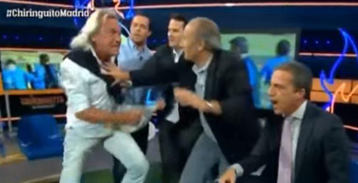 El Loco Gatti amenaza en directo a Soria en el Chiringuito
