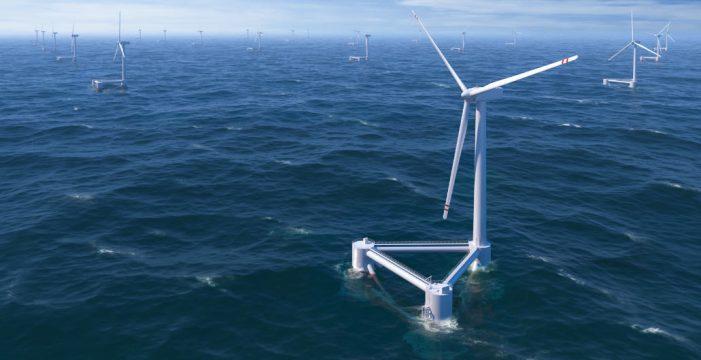 Canarias será pionera en Europa en parques eólicos marinos de aguas profundas