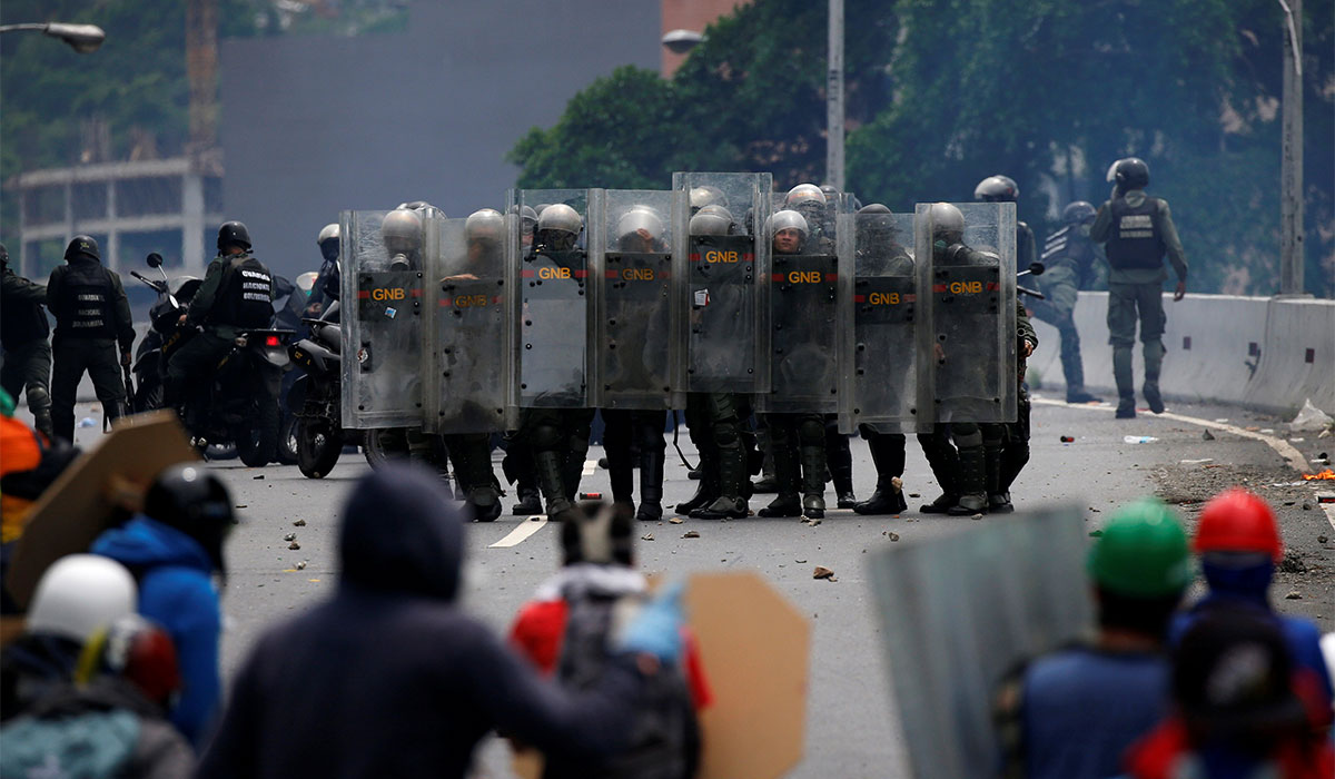 GNB Protesta Venezuela