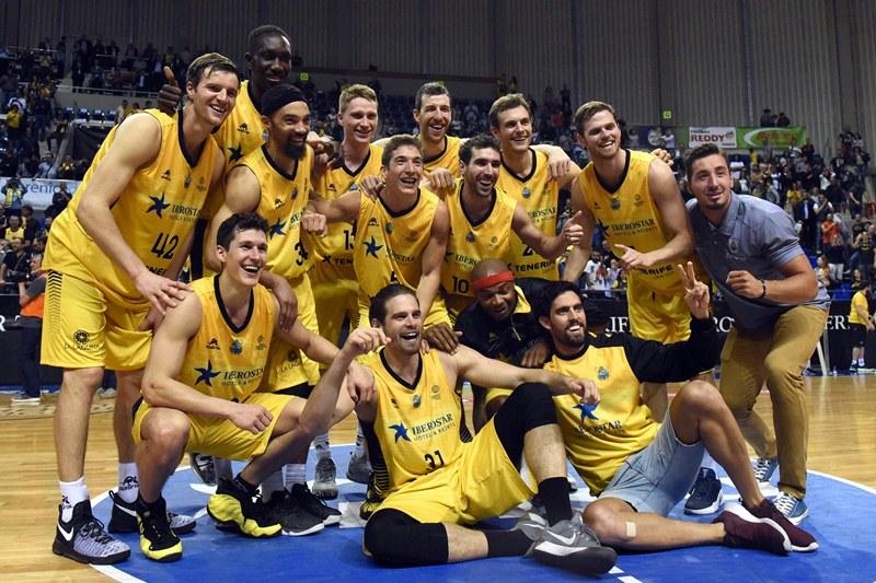 Iberostar Tenerife Canarias Basketball Champions League