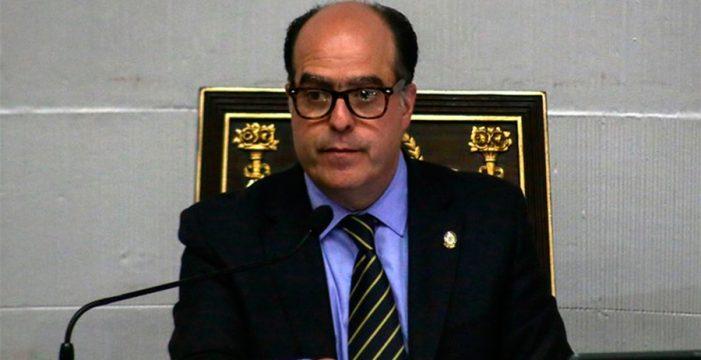 El presidente del Parlamento venezolano expone la crisis del país ante la Eurocámara