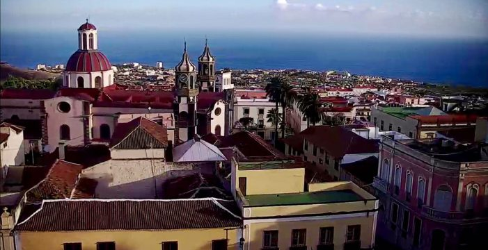 Una 'webcam' para ver La Orotava en 360 grados durante las 24 horas