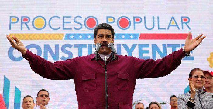 """Maduro: """"Saca tus manos cochinas de Venezuela. ¡Go home, Donald Trump!"""""""