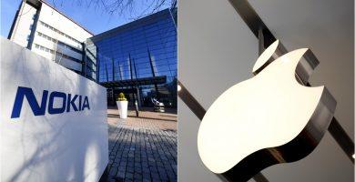Nokia y Apple zanjan sus disputas legales sobre patentes