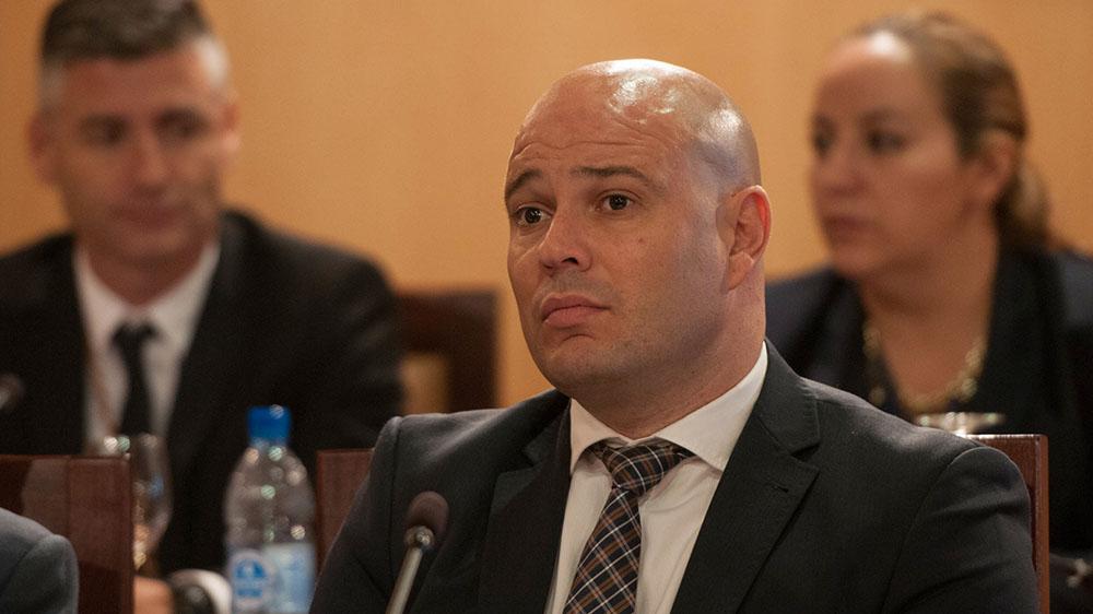 Airam Pérez Chinea tiene hoy el primer contacto con la oposición tras la expulsión de los nacionalistas. S. Méndez