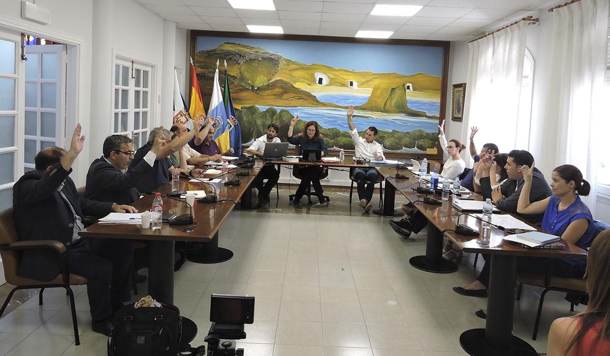 Los grupos políticos aprobaron por unanimidad exigir la paralización de los proyectos de energías renovables hasta que exista un ordenamiento energético. Norchi