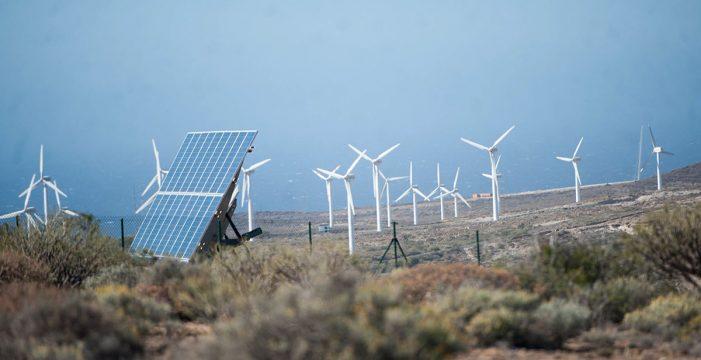 Arico aprueba por unanimidad parar 30 parques eólicos y 186 aerogeneradores