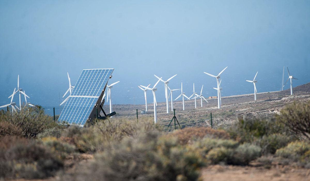 Arico se ha convertido en la meca de los molinos de viento. Fran Pallero