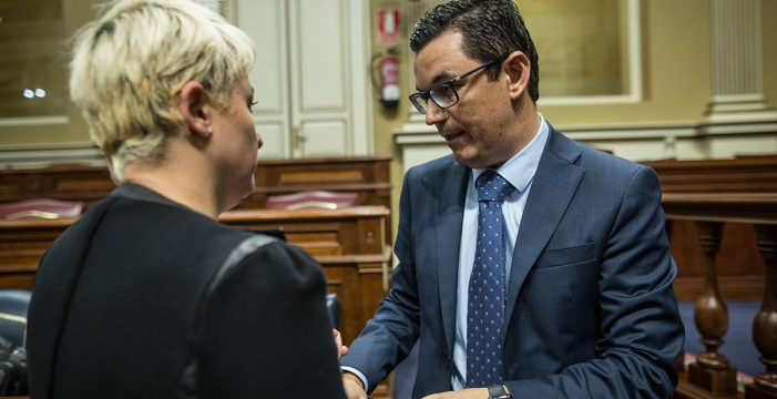 """El Gobierno canario revela que """"no  hay proyecto"""" para la obra de la TF-5"""